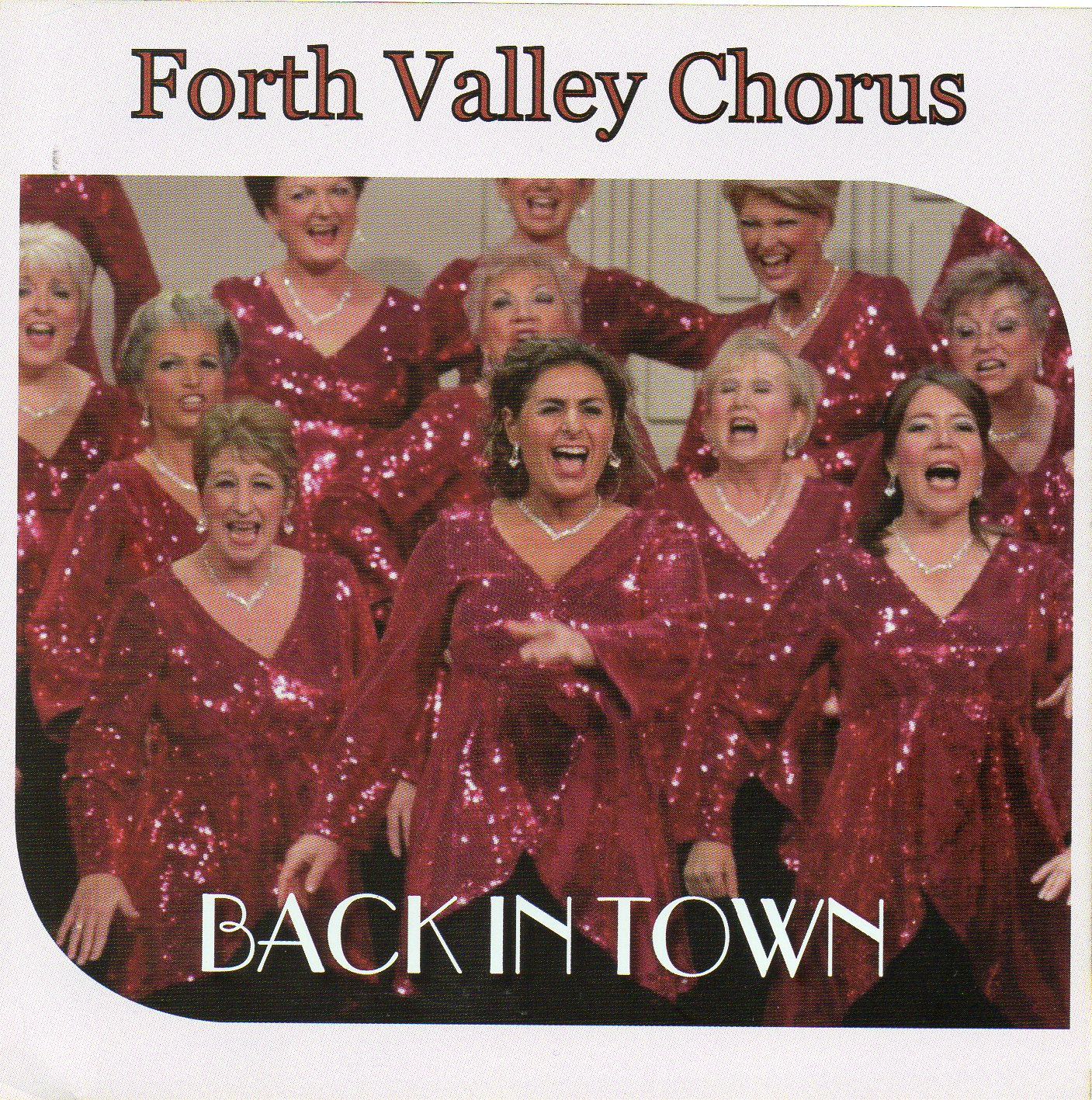 Back in Town CD cover